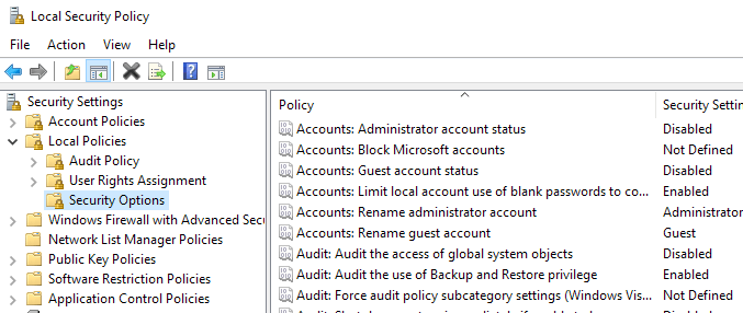 How to Reset Local Security Policy Settings to Default in Windows 10, 8, 7, Vista, XP